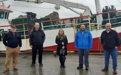Sinn Féin meet fishermen along the west coast ahead of fisheries policy launch