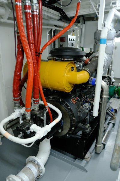 orion engine room macduff shipyards