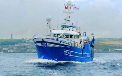 Macduff Shipyards delivers new 'ORION' BF 432 for Fraserburgh
