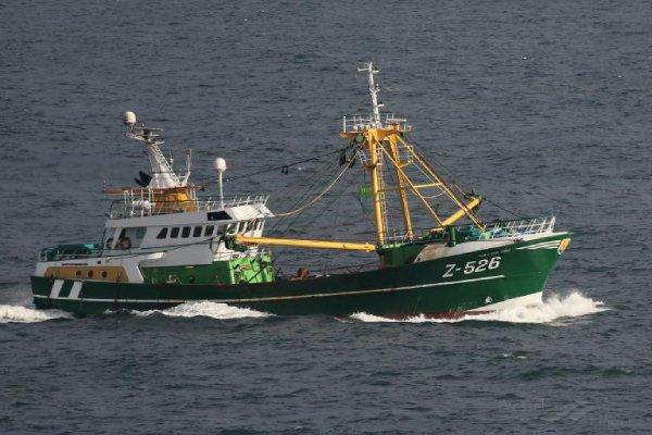 Belgian-registered trawler the Vaya Con Dios was brought to Cobh harbour where the crew are self-isolating amid COVID-19 outbreak concerns