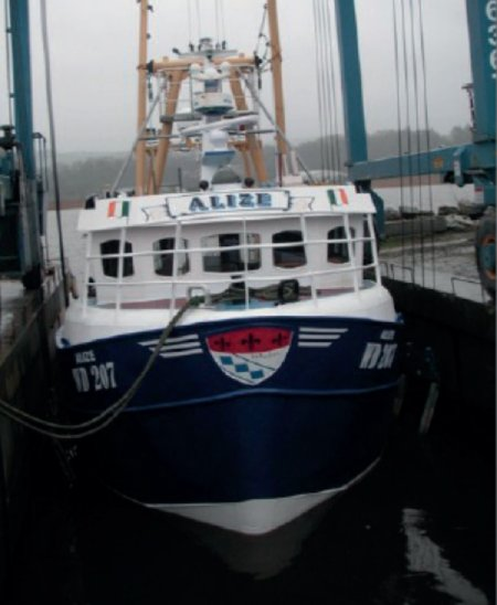 The MCIB has issued their Report into the sinking of the FV Alize (above), Marine Notice No. 53 of 2021 - Hazards associated with trawling on small fishing vessels