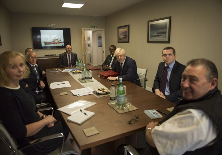 Leaders from the Scottish Fishing industry met with Prime Minister Boris Johnson and urged to help industry build back after Brexit fiasco