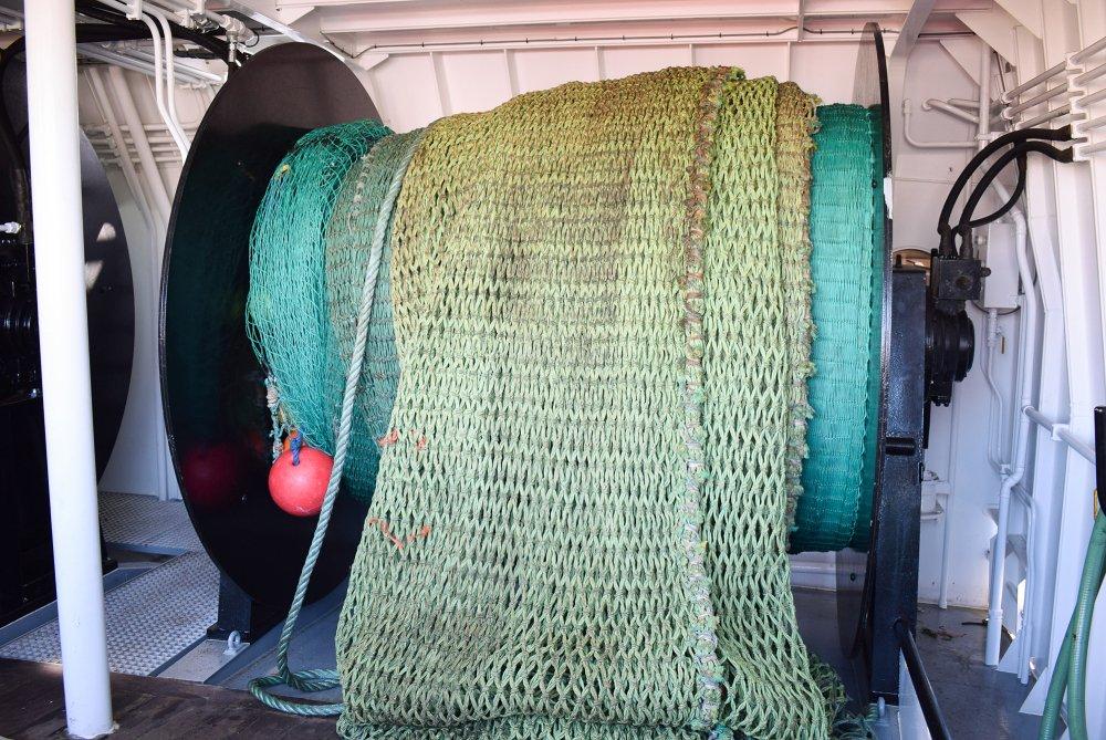 net drum fishing boat scotland