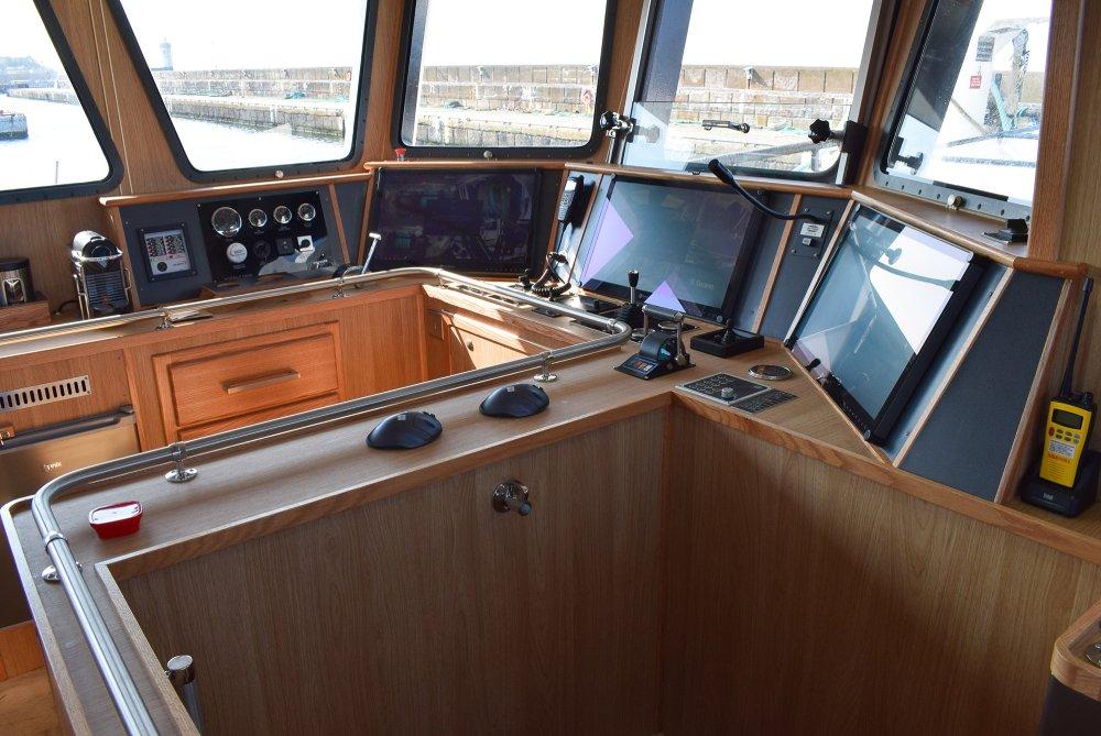 wheelhouse boat fraserburgh scotland