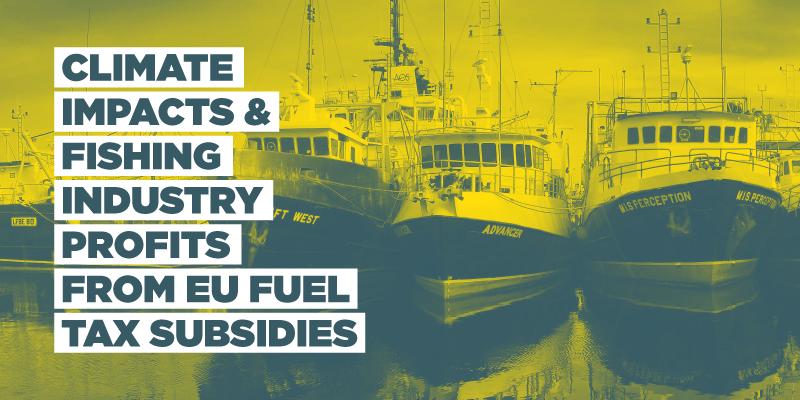 EU Fuel Tax Subsidies