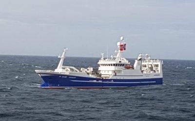 Bad weather hampered operations for Norwegian mackerel fleet