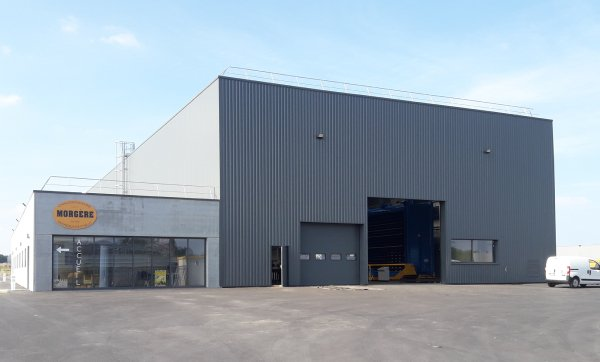 Morgère, has successfully completed the move to a new purpose-built production facility in nearby Miniac-Morven
