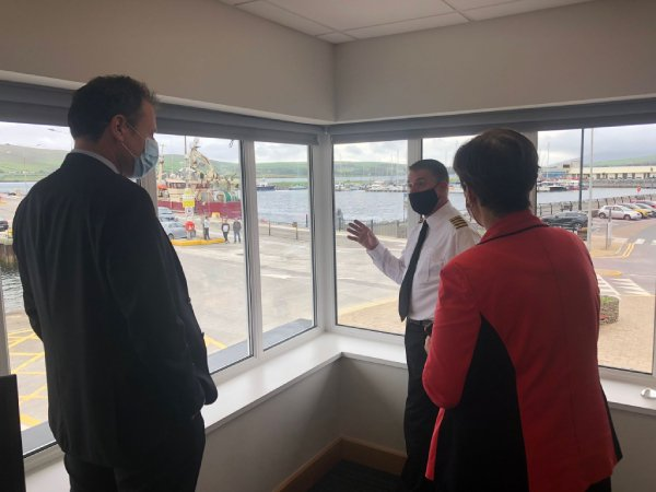 minister for agricultire, food and the marine charlie mcconalogue td in dingle