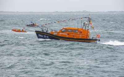 Dunmore East RNLI welcomes new €2.4 million Shannon class lifeboat to Waterford