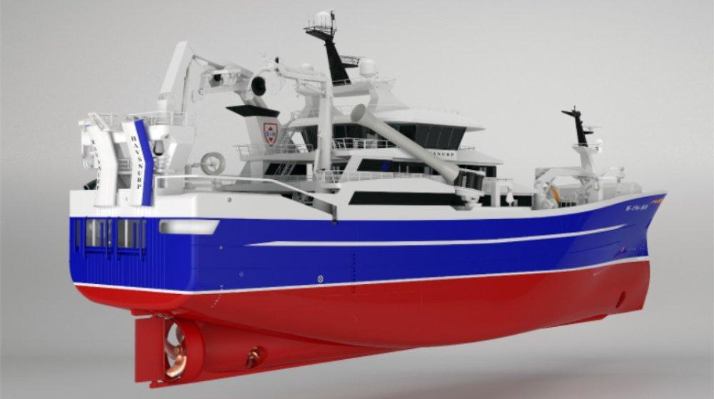 HAVSNURP norway trawler karstensens shipyard