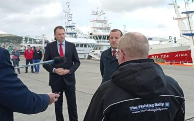 EU Commissioner Sinkevicius meets with Irish fishing industry in Killybegs