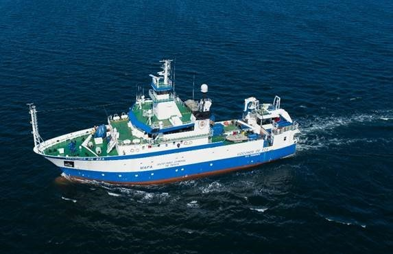The Vizconde de Eza oceanographic vessel begins the Porcupine 2021 campaign to assess fisheries resources on the west coast of Ireland