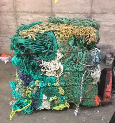 Welsh fishermen tackle marine plastic and climate change through The Net Regeneration Scheme the first of its kind in the South West of the UK