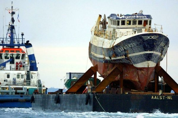 A Coroner's Inquest has opened in London for two crew members onboard a French fishing boat, Bugaled Breizh lost off the Cornish coast in 2007. Photo: AFP